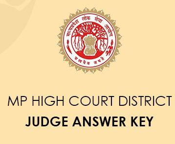 MP Superior Court District Judge Answer Key 2020 - Perfect ...