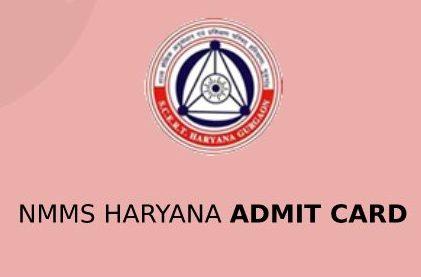 NMMS Haryana Admit Card 2020