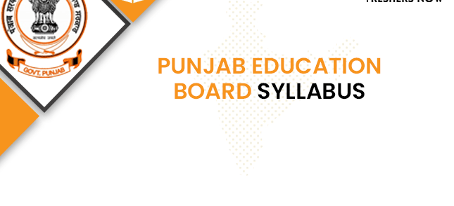Punjab Education Board Lecturer Syllabus 2020