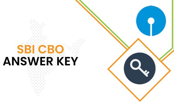 SBI CBO Answer Key 2020