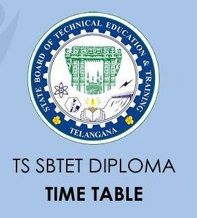 TS SBTET Diploma Delivery Time Table 2020