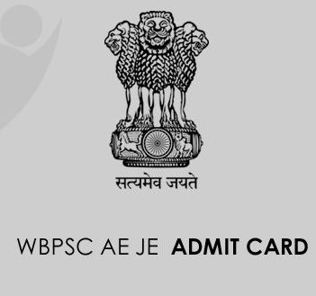 WBPSC Assistant Engineer Admit Card 2020