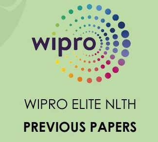 Wipro Elite NLTH Previous Papers