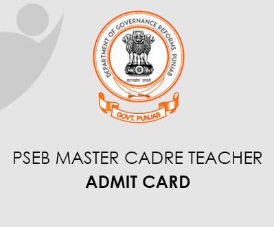 PSEB Teacher Admit Card 2020