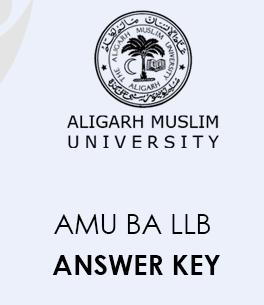 AMU BA LLB Answer Key 2020