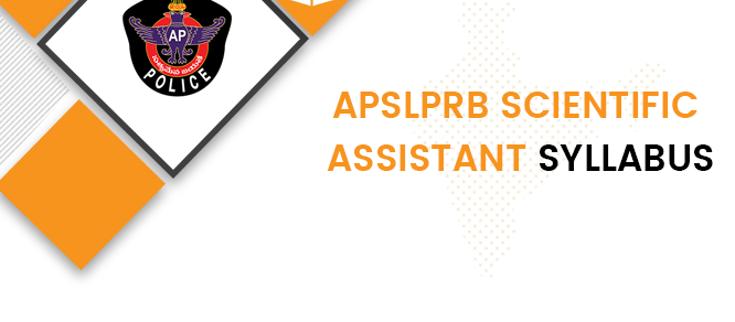 APSLPRB Scientific Assistant Syllabus 2020