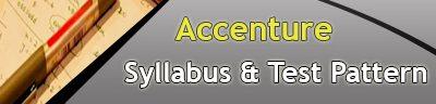 Accenture Syllabus 2020