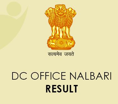 DC Office Nalbari Result 2021