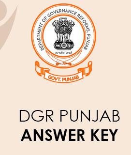 DGR Punjab Answer Key 2020