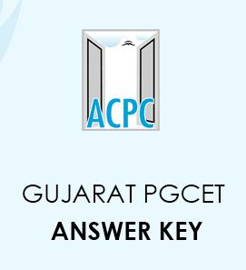 Gujarat PGCET Answer Key 2020