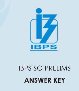 IBPS SO Prelims Answer Key 2021