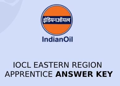 IOCL Eastern Apprenticeship Answer Key 2020