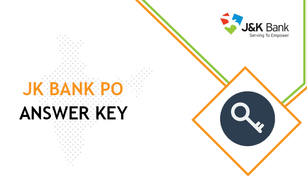 JK Bank PO Answer Key 2020