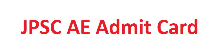 JPSC AE Admit Card 2021