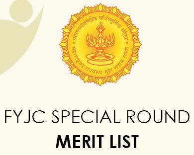 FYJC Special Round Merit List 2020