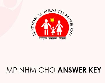 MP NHM CHO Answer Key 2020