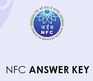 NFC Stipendiary Trainee Answer Key 2020
