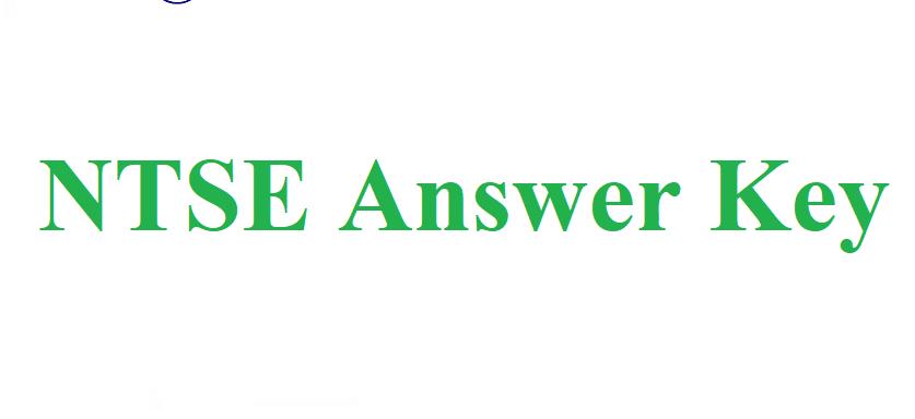 NTSE Answer Key 2020-2021