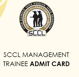 SCCL Management Trainee Hall Ticket 2021