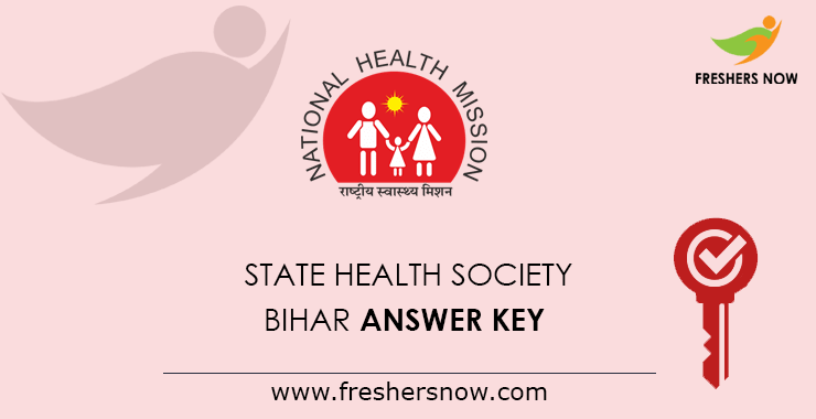 SHS Bihar ANM Answer Key 2020 PDF | BHM, Other Messages, Objections