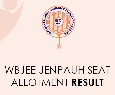 WBJEE JENPAUH Allocation Result 2020
