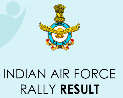 Indian Air Force Rally Result 2021