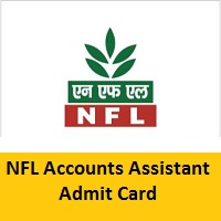 NFL Account Assistant Admit Card 2021
