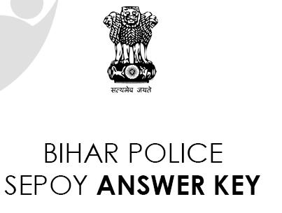 Bihar Police Sepoys Answer Key 2021