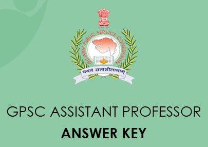 GPSC Assistant Professor Answer Key 2021