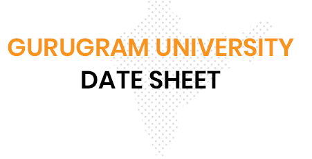 Gurugram University Data Sheet 2021