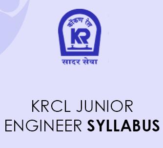 KRCL Junior Engineer Syllabus 2021