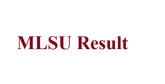 MLSU Result 2021