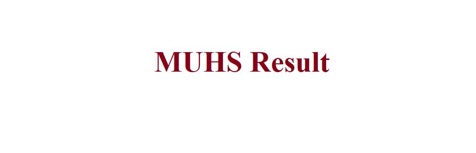 MUHS Result 2021
