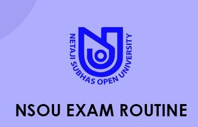 NSOU Exam Routine 2021