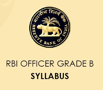 RBI Grade B Syllabus 2021