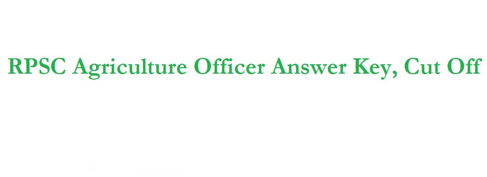 RPSC ARO Answer Key 2021