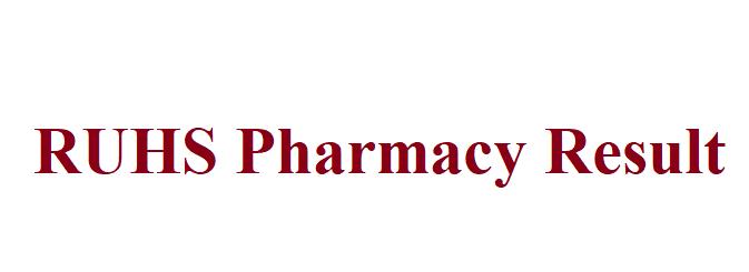 RUHS Pharmacy Result 2021