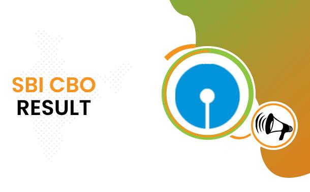 SBI CBO Result 2021