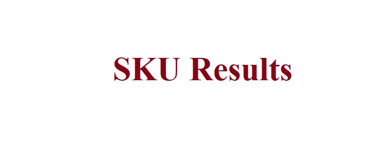 SKU Result 2021