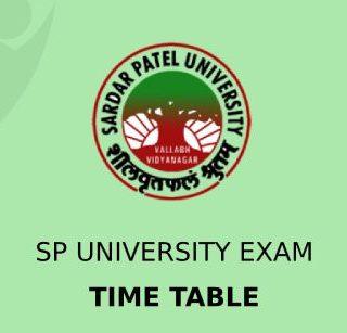 SP University Exam Schedule 2021