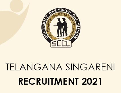 Telangana Singareni Recruitment 2021