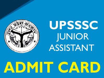 UPSSSC Junior Attendant Admit Card 2021