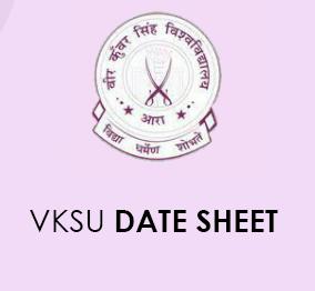 VKSU Date Sheet 2021