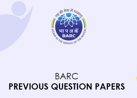 BARC Previous Question Papers