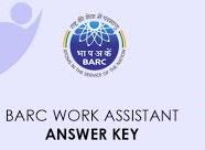 BARC Work Assistant Answer Key 2021