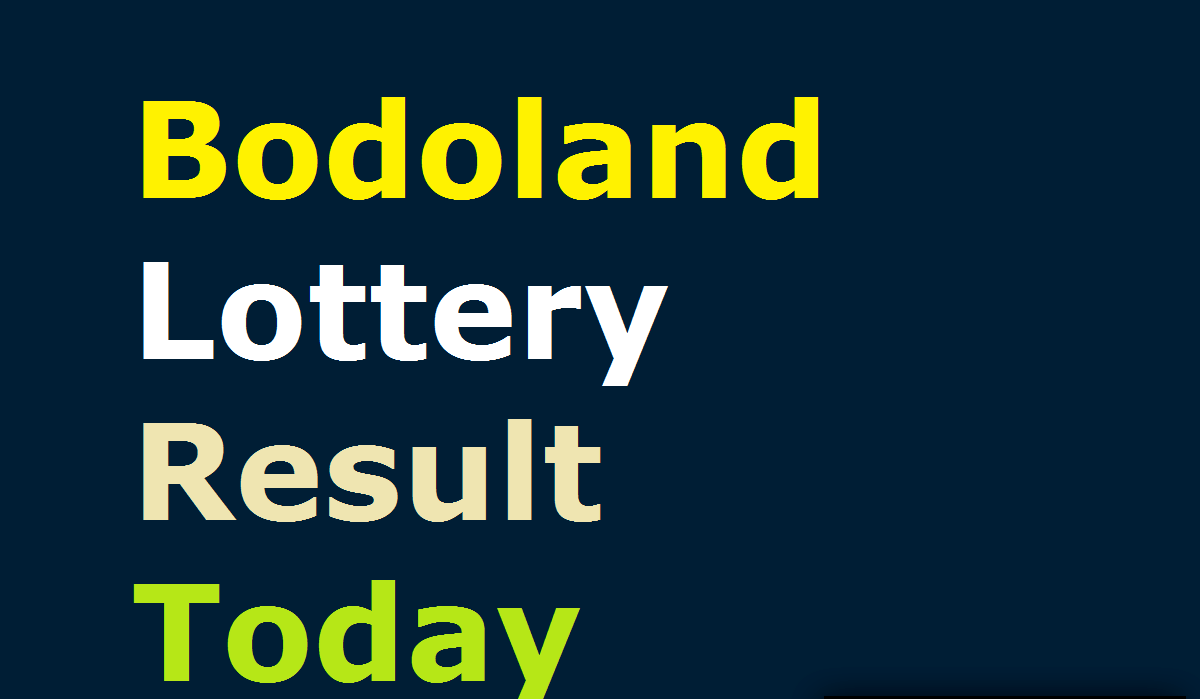 Bodoland lottery result today 28th February 2021