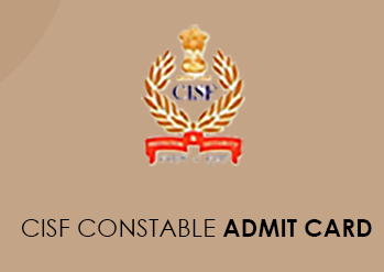 CISF Constable Merchant Admit Card 2021