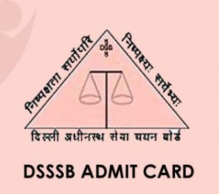 DSSSB Technical Assistant Admit Card 2021