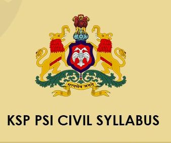 KSP SI Civil Syllabus 2021