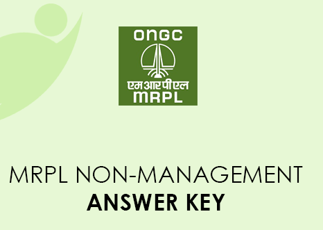 MRPL Non Management Answer Key 2021